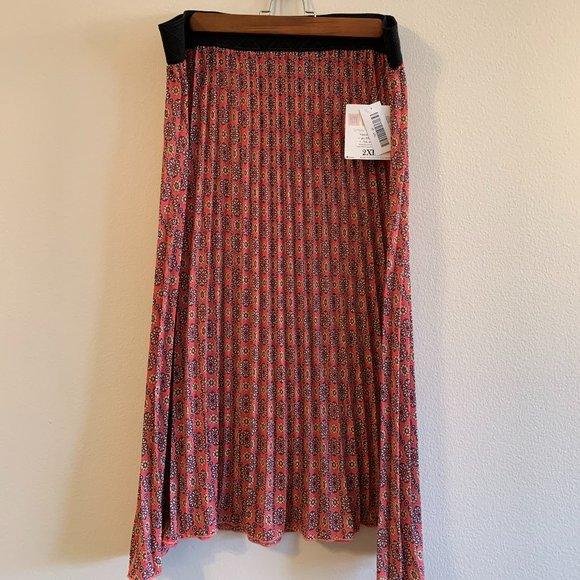 LuLaRoe Jill 2XL skirt